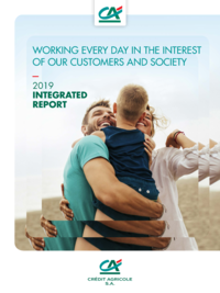"""Cover - """"2019 Integrated Report"""""""