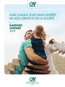 """Couverture - """"Rapport Intégré 2019"""""""